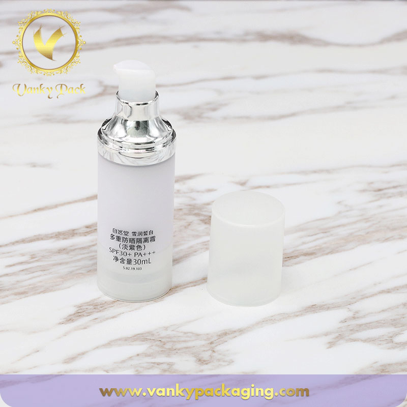 Empty Luxury Cosmetic Bottle Packaging,Airless Lotion Bottle, Airless Serum Bottle