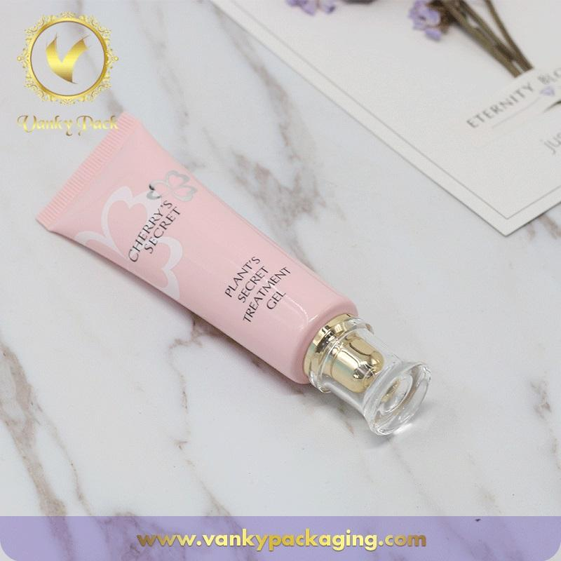 Plastic Cosmetic Soft Pe Tube /Empty Cosmetic Packaging Hose