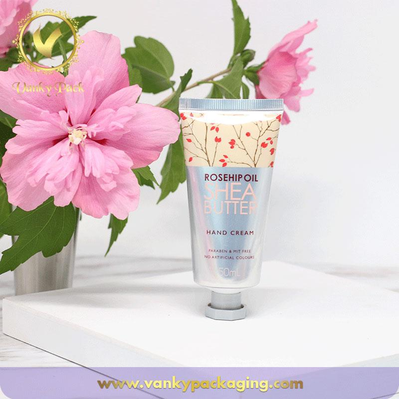 Aluminum plastic tube hand cream cosmetic packaging
