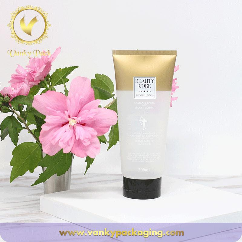 Plastic Cosmetic Soft Pe Tube Empty Cosmetic Packaging Wholesale