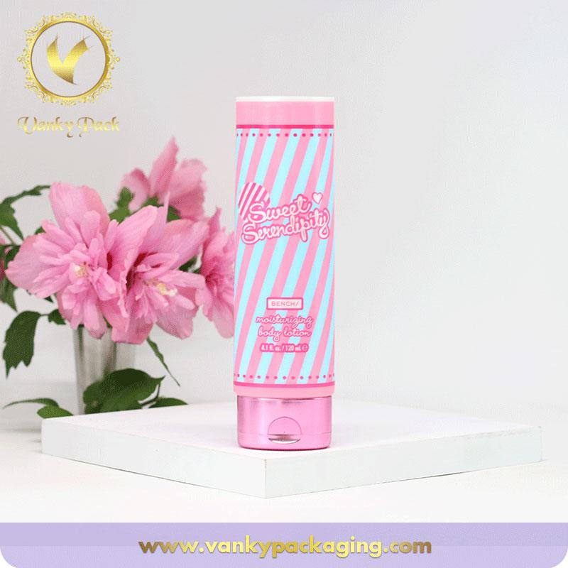 Wholesale free sample cleansing gel facial foam girls empty cosmetic tube