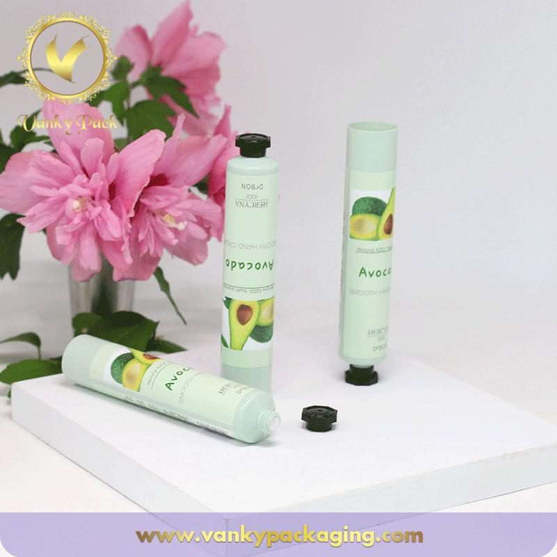 Classic Hand Cream Aluminum Plastic Laminated Tubes for Cosmetic With Octagon Cap