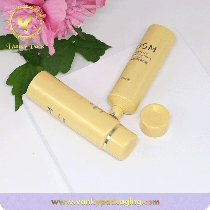 Round facial cream tubes cosmetic packaging from China supplier