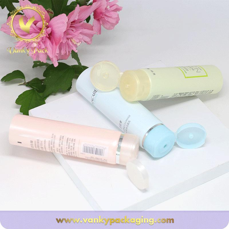 Customized colors 16mm-60mm diameter cosmetic tube packaging high quality offset printing