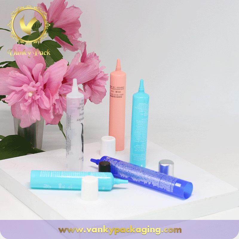 Different colors 15ml cute cosmetic packaging tube good screen