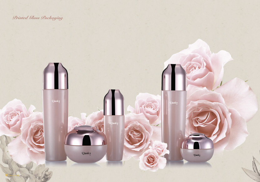 Cosmetic Glass Packaging