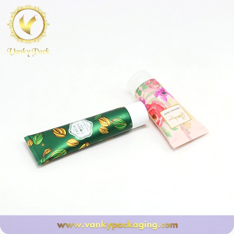 Cosmetic Cream Packaging Empty Plastic Soft Tubes With Screw Cap