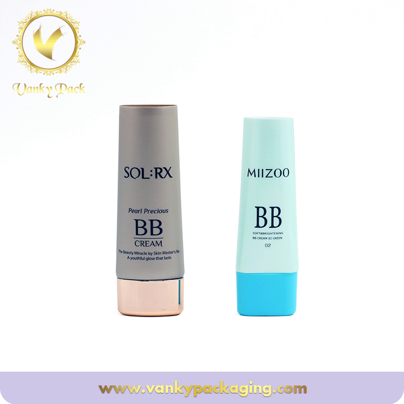 Hot Sale Empty Plastic Squeeze Soft Cosmetic Tube Packaging