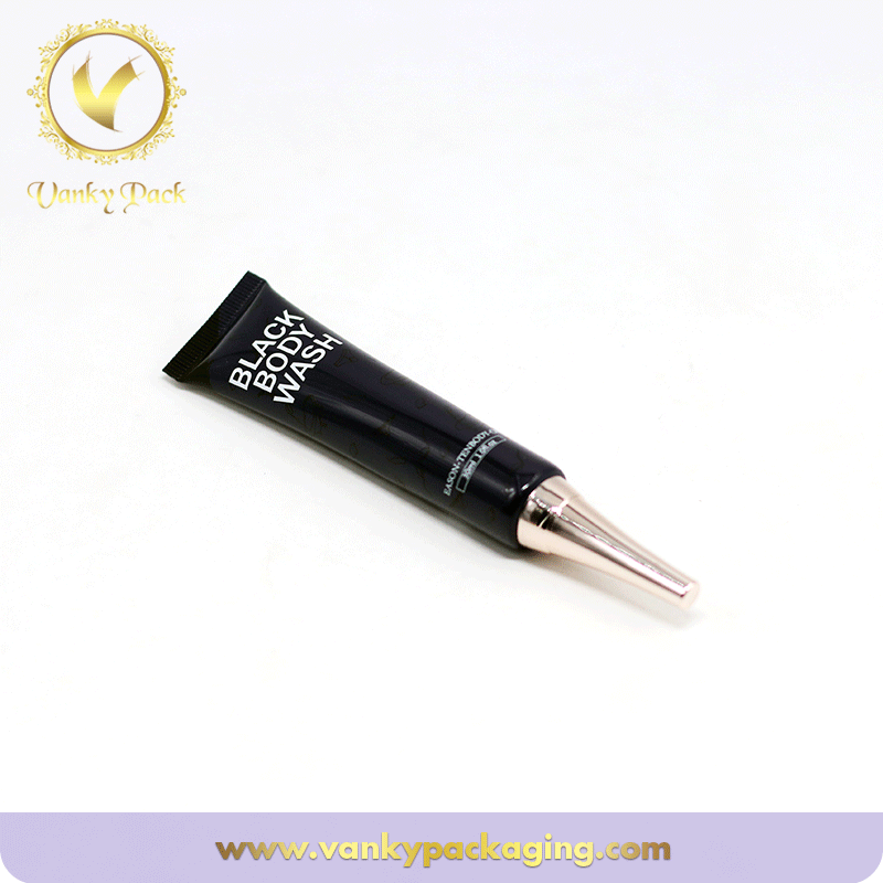 Small Capacity Round Plastic Tube For Cosmetic Packagig