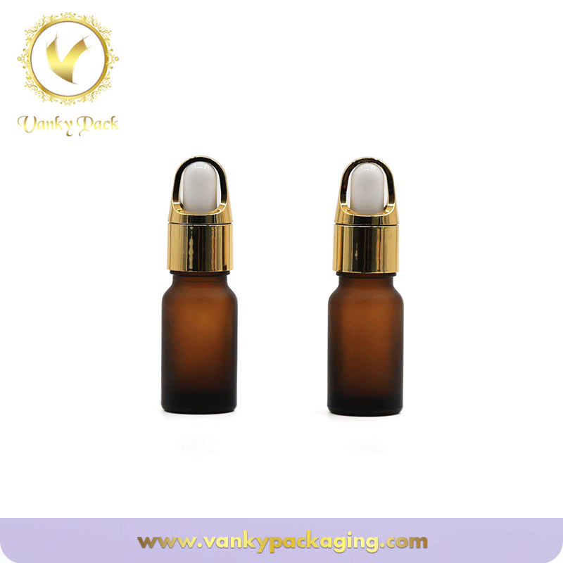 Hot Sale 10ml 30ml 50ml 100ml Cosmetic amber glass bottle Essential Oil Dropper Bottle